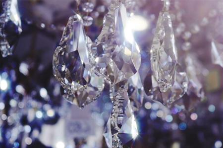 Cut glass shapes