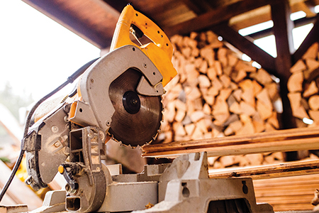 Wood & Forestry Industry - blades, saws and tools